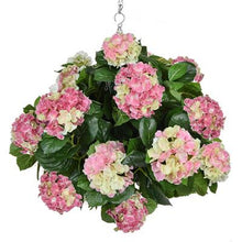 Load image into Gallery viewer, Hydrangea Ball Hanging Baskets 50cm - Strelitzia's Floristry & Irish Craft Shop