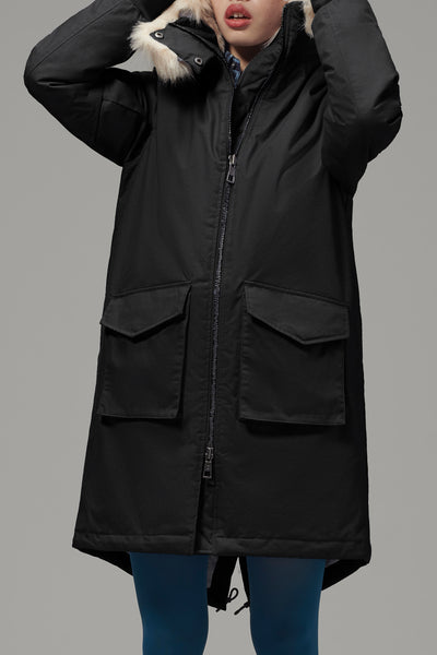 Ladies' Long Parka