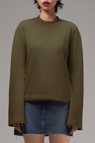 Ladies' Bell Sleeve Sweater