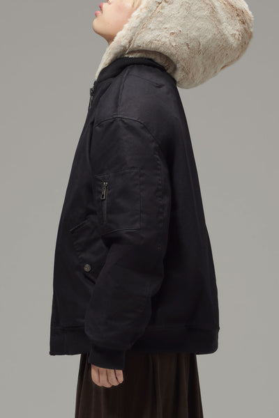 Ladies' Fur Lined Bomber