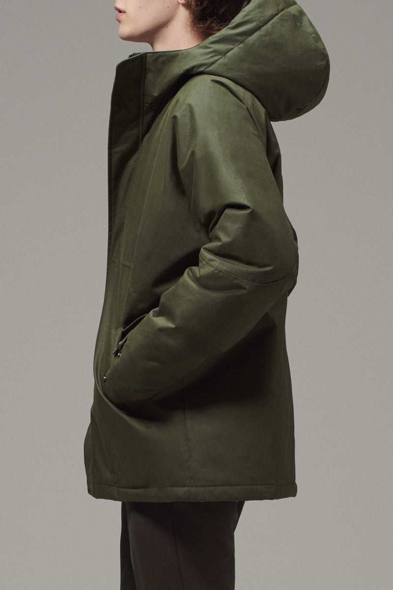 Men's Short Hooded Parka
