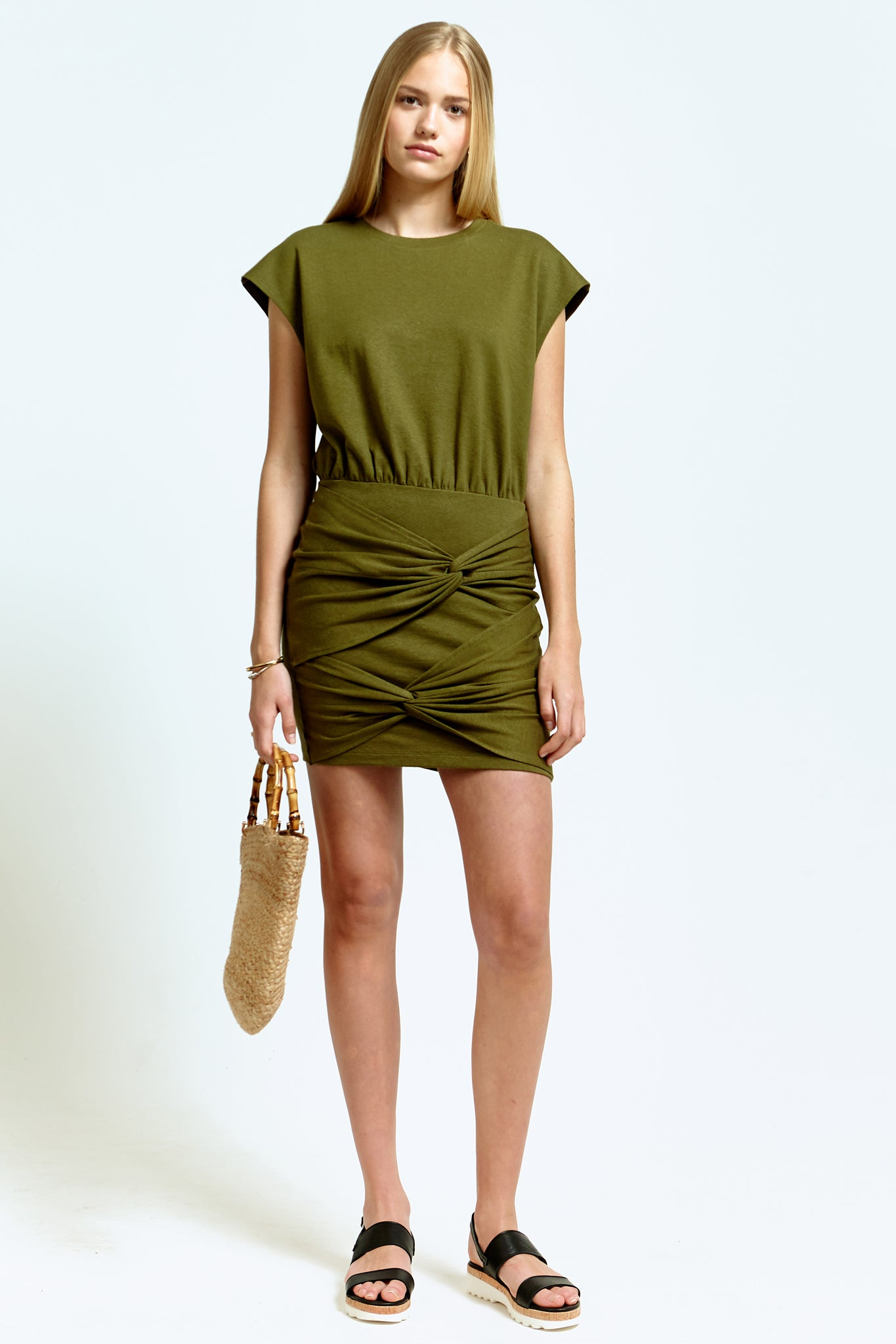 Double Knot Sleeveless Dress