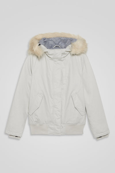 Ladies' Hooded Bomber Jacket