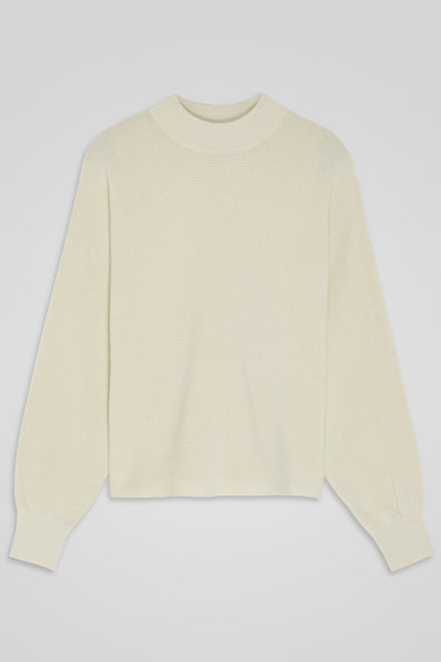 Ladies' Mock Collar Sweater