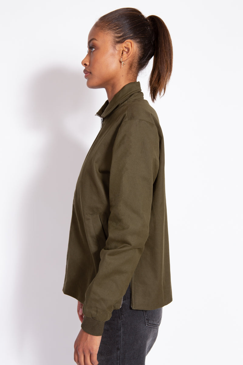 Side Zip Jacket