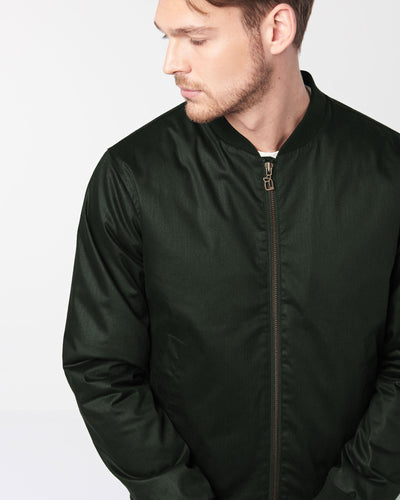Men's Classic Bomber - Deep Army Green