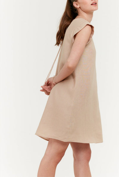 Square Shoulder Dress
