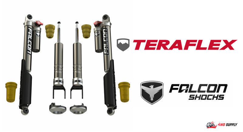 The Ultimate Shock Solution! Tereflex Falcon Shocks on a Ram 1500