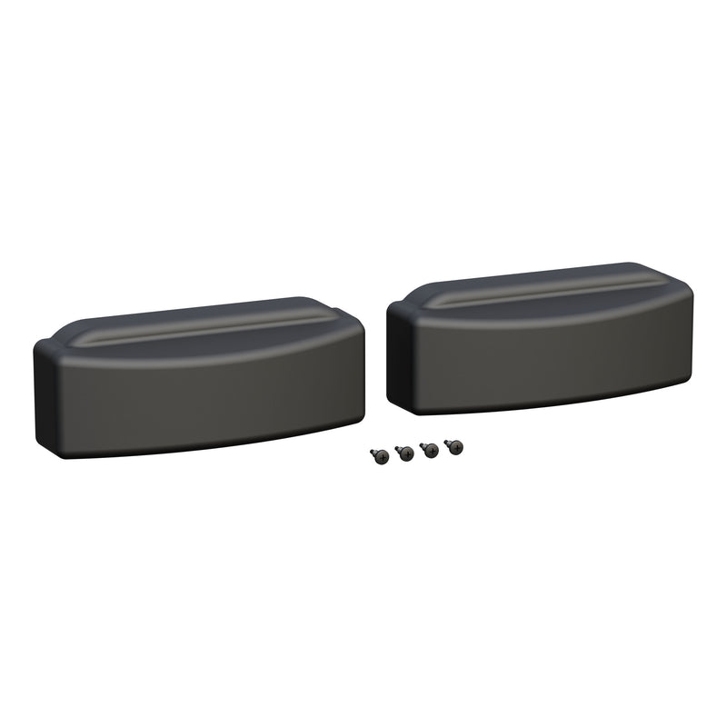 LUVERNE - LUVERNE 2090608 Replacement End Caps for Grip Step 7-Inch Running Boards, 2-Pack - 2090608
