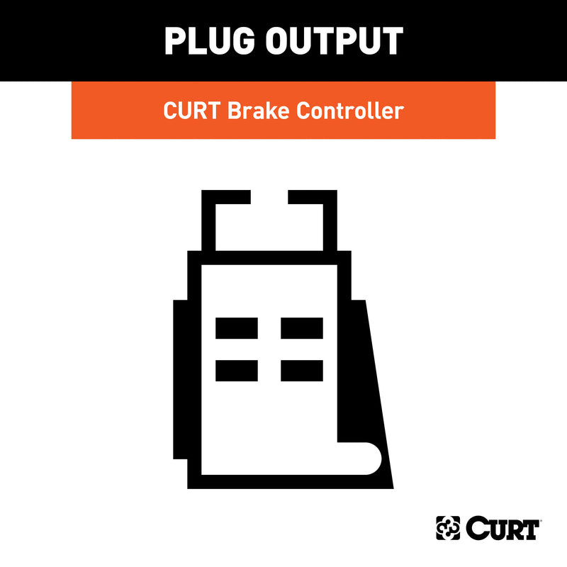 CURT - Trailer Brake Controller Harness, Select Jeep Cherokee KL - 51459