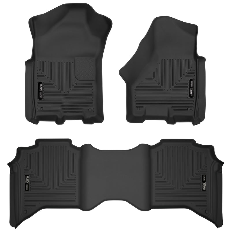Husky Liners - Front & 2nd Seat Floor Liners - 53638
