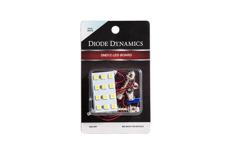 LED Board SMD12 Warm White Pair Diode Dynamics