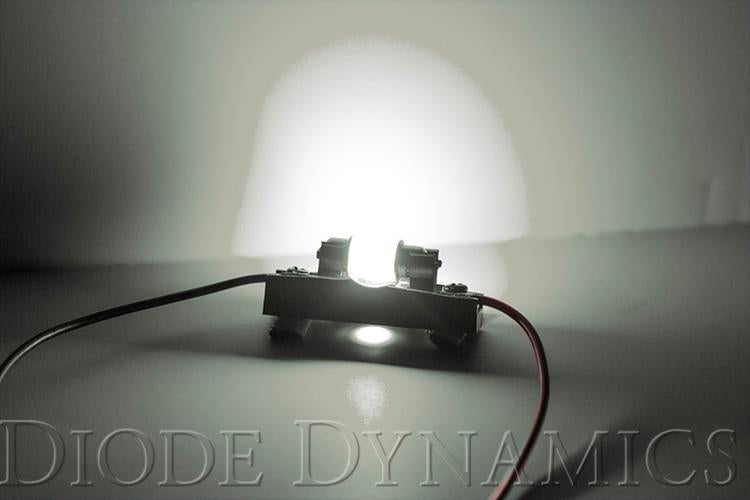 29mm HP6 LED Bulb Red Pair Diode Dynamics