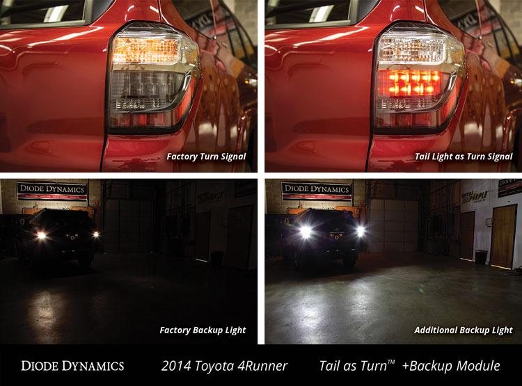 2014-2019 Toyota 4Runner Tail as Turn Module Diode Dynamics