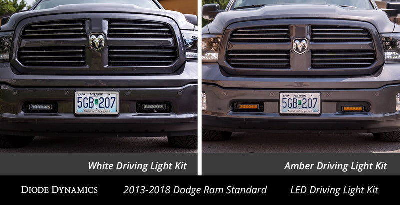 Ram 1500 13-18 | Standard Stage Series 6 Inch Kit White Driving Diode Dynamics