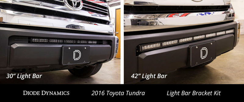 14-19 Toyota Tundra 30 Inch LED Lightbar Kit White Flood Stealth Series Diode Dynamics