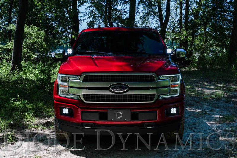 Ditch Light Brackets for 15-20 Ford F-150/Raptor Diode Dynamics