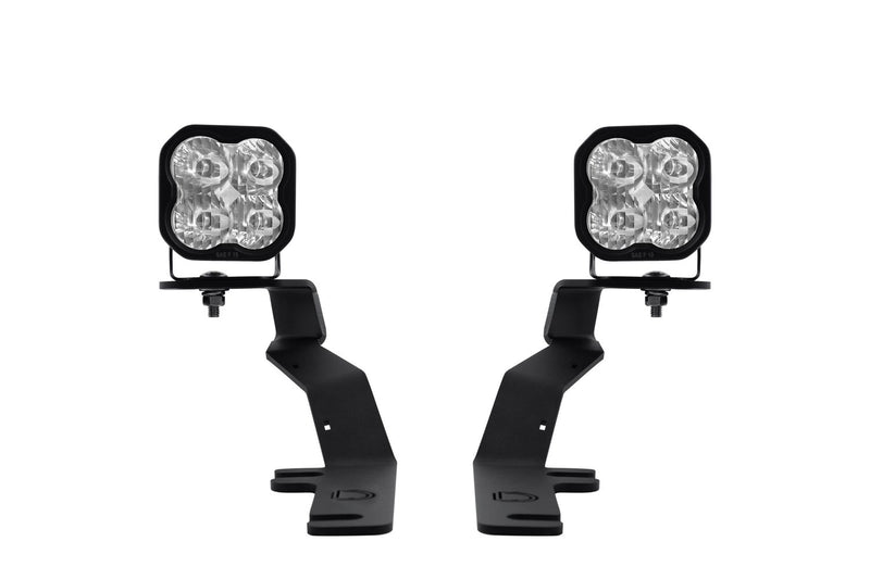 SS3 LED Ditch Light Kit for 15-20 Ford F-150/Raptor Pro White Driving Diode Dynamics