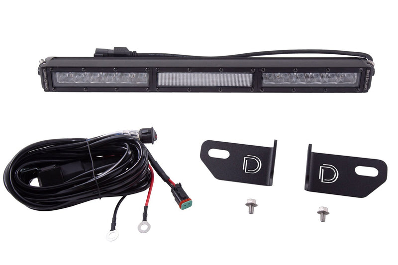 SS6 6 Inch LED Lightbar Kit for 2019-2020 Ford Ranger White Wide Diode Dynamics