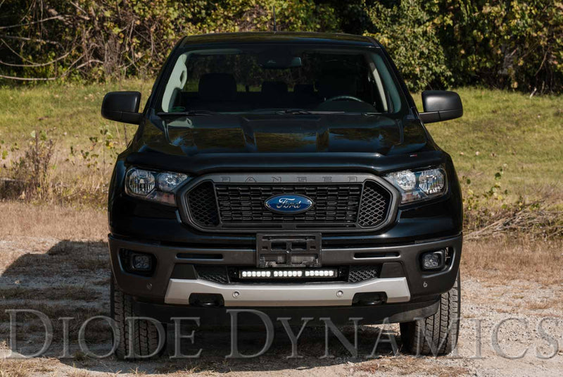 SS6 6 inch LED Lightbar Kit for 2019-2020 Ford Ranger Amber Wide Diode Dynamics