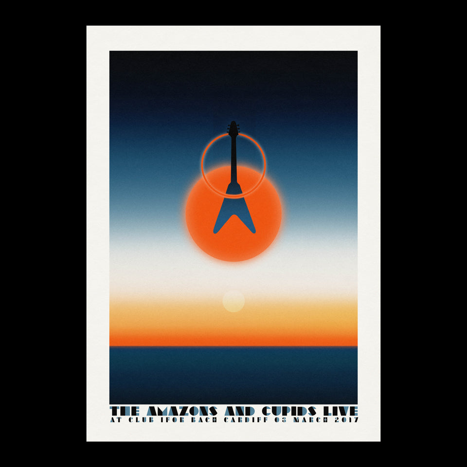 Flying V Cardiff A2 Poster
