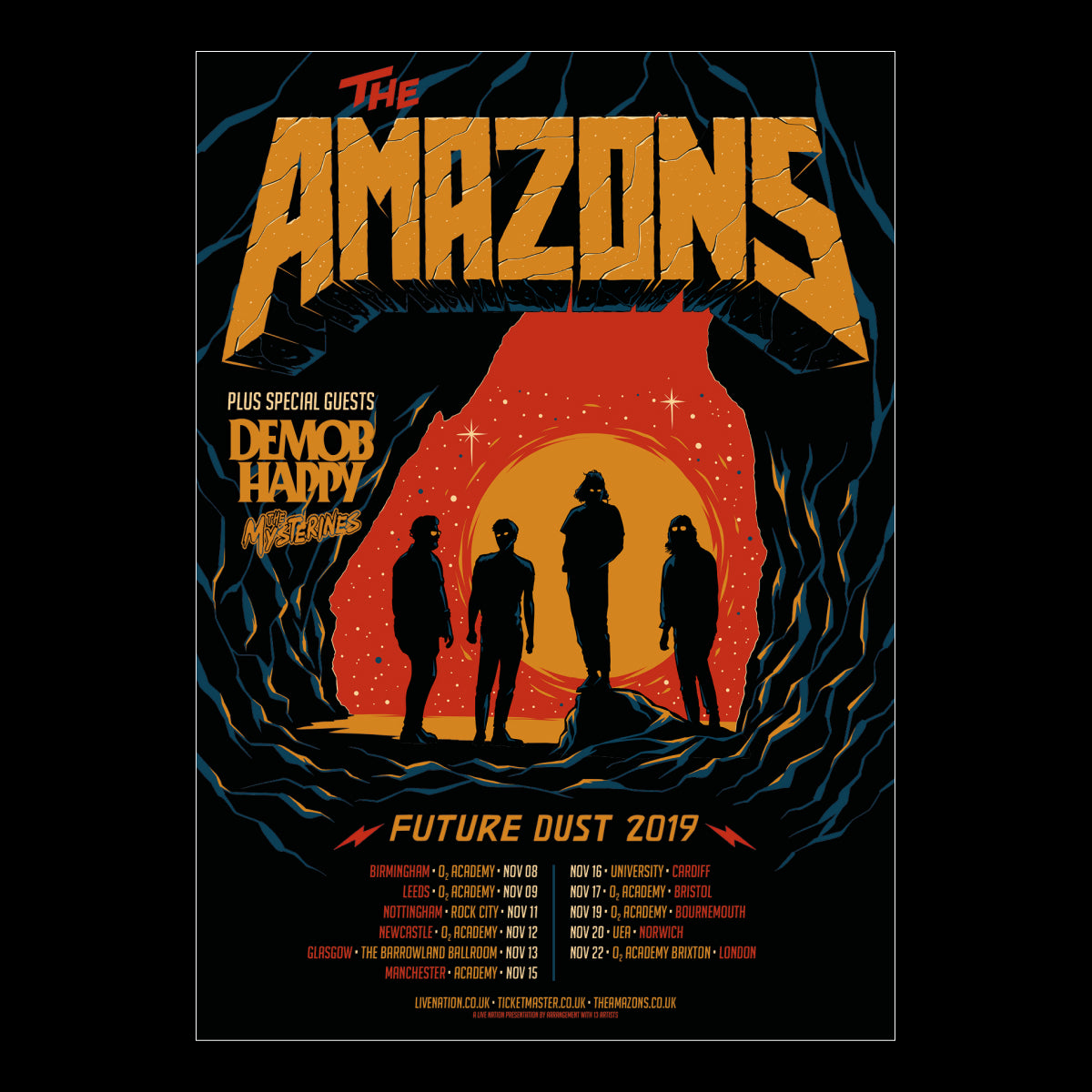The Amazons - Future Dust A2 Poster
