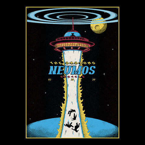 The Amazons - Seattle Neumos A3 Poster