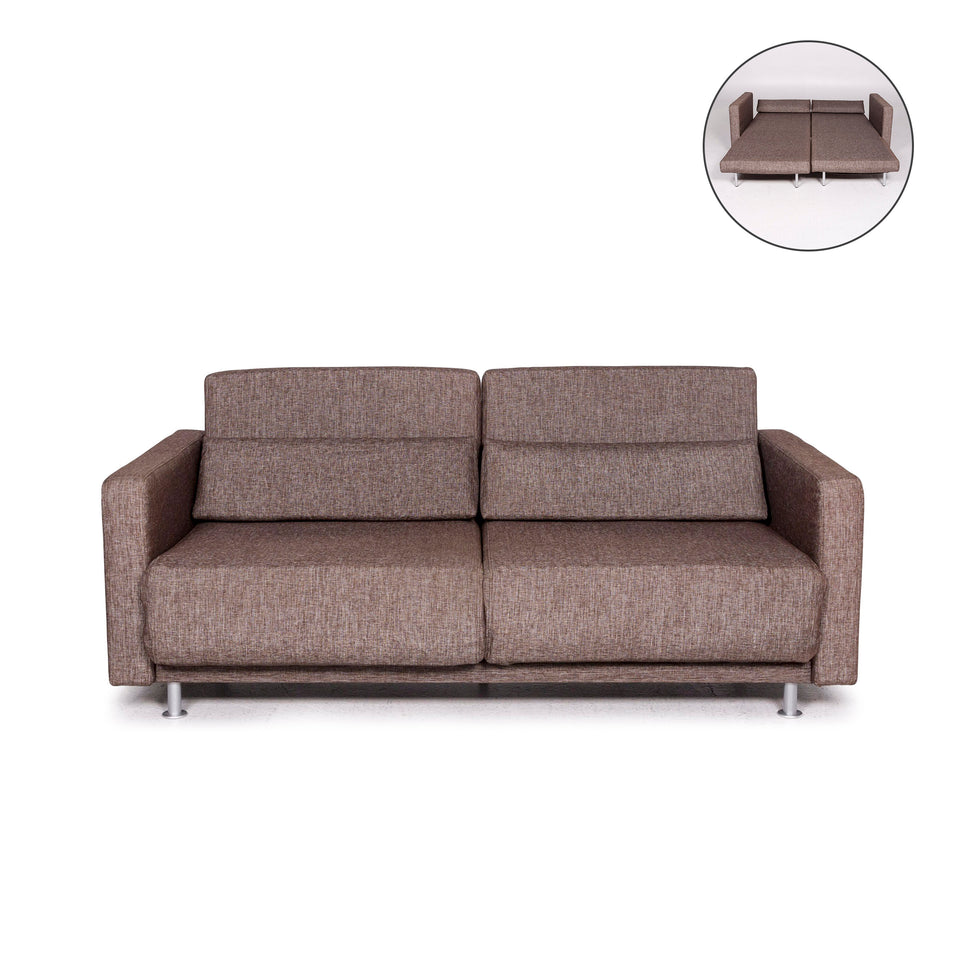 BoConcept Melo Stoff Schlafsofa Braun Sofa Schlaffunktion Funktion Couch #12054