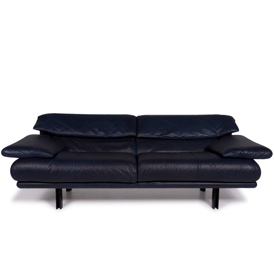 Who's Perfect Leder Sofa Weiß Dreisitzer #10585