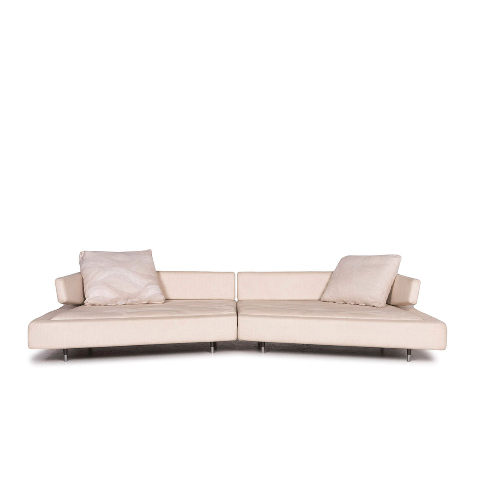 arketipo Must Stoff Sofa Creme Viersitzer Funktion Couch #12090