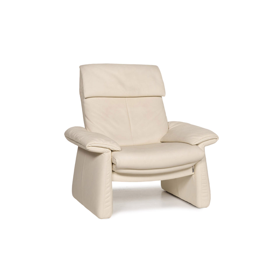 Erpo Leder Sessel Creme Relaxfunktion Funktion Relaxsessel #13264