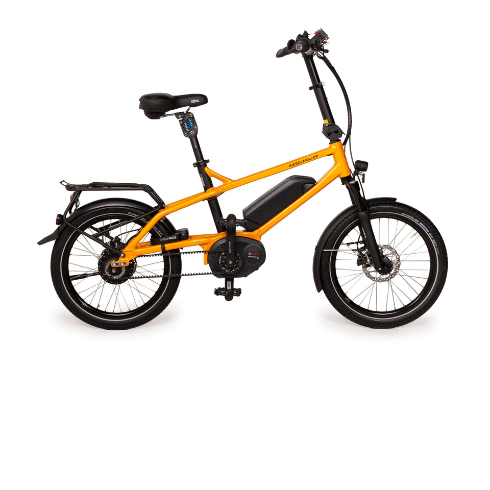 Riese & Müller Bluelabel Pony City 2016 Aluminium Fahrrad Orange E-City Bike 20""