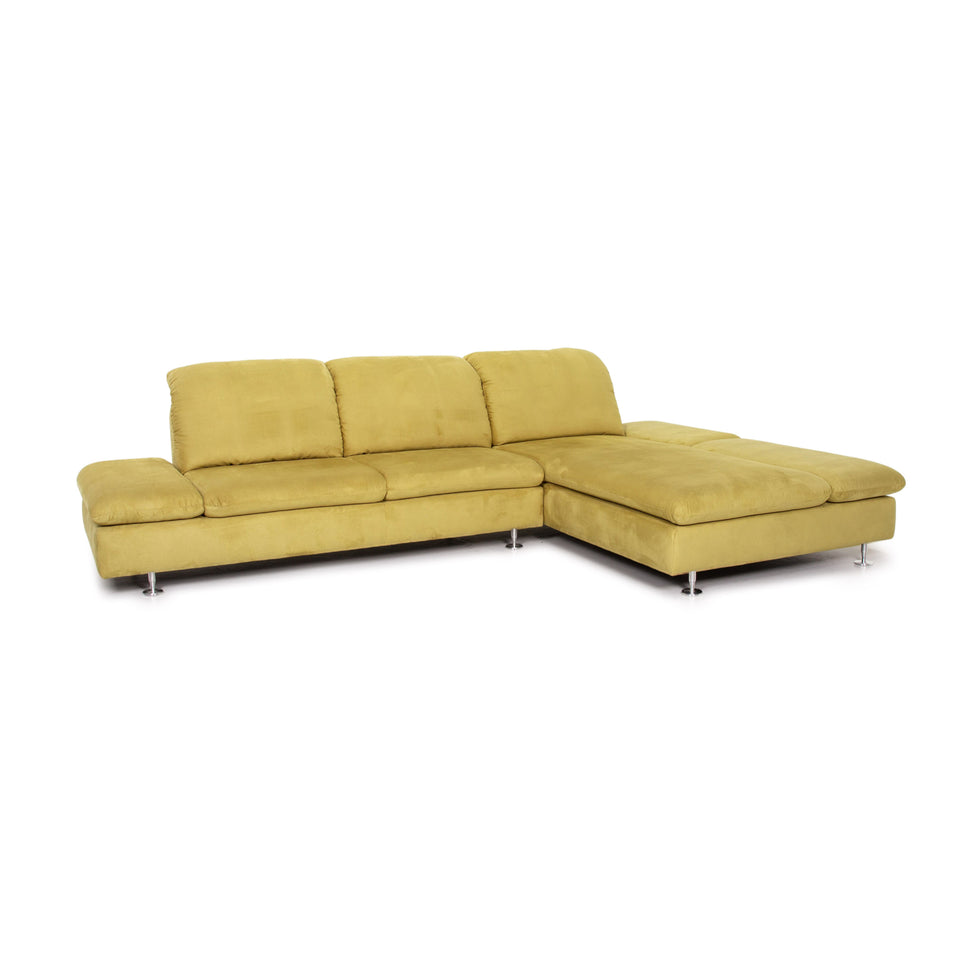 Willi Schillig Select Venus Plus Stoff Ecksofa Grün Sofa Couch #14169