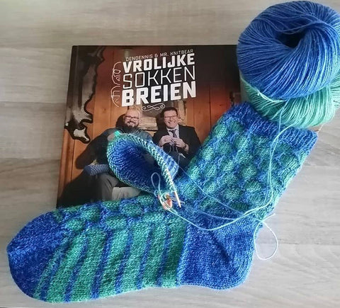 nettle sock yarn onion