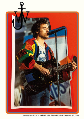 breien Harry Styles cardigan DIY