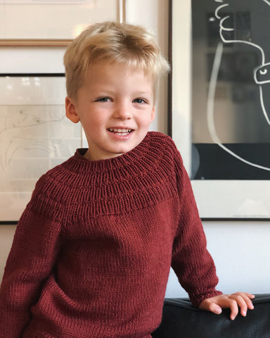 PetiteKnit - Anker's Sweater - kids