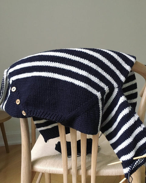 PetiteKnit - Seaside Sweater Junior