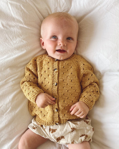 PetiteKnit - Anna's Cardigan Junior