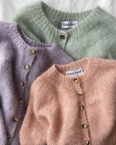 PetiteKnit - Novice Cardigan Mohair - edition