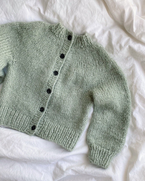 PetiteKnit - Novice Cardigan Mini - Chunky edition