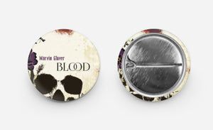 BLOOD ALBUM COVER BUTTON