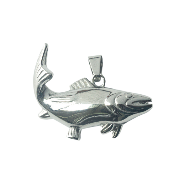 Sport Fish Stainless Steel Pendant