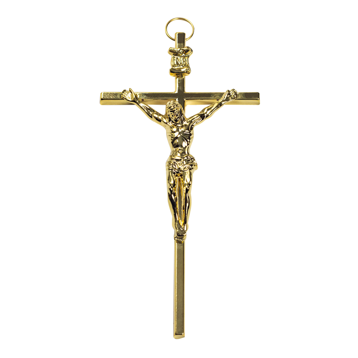 "3-1/2"" Gold Children's Crucifix"