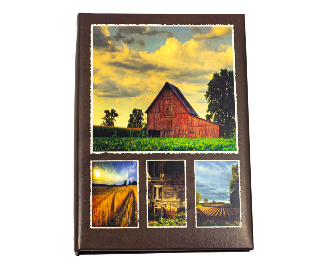 Red Barn Large Printed Cover