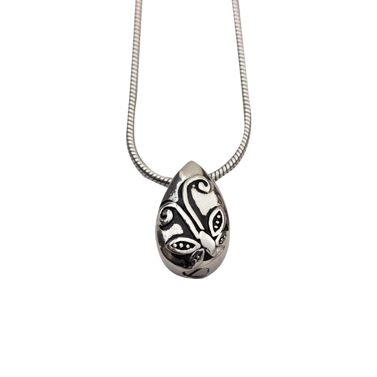 Tear Drop Stainless Steel Pendant