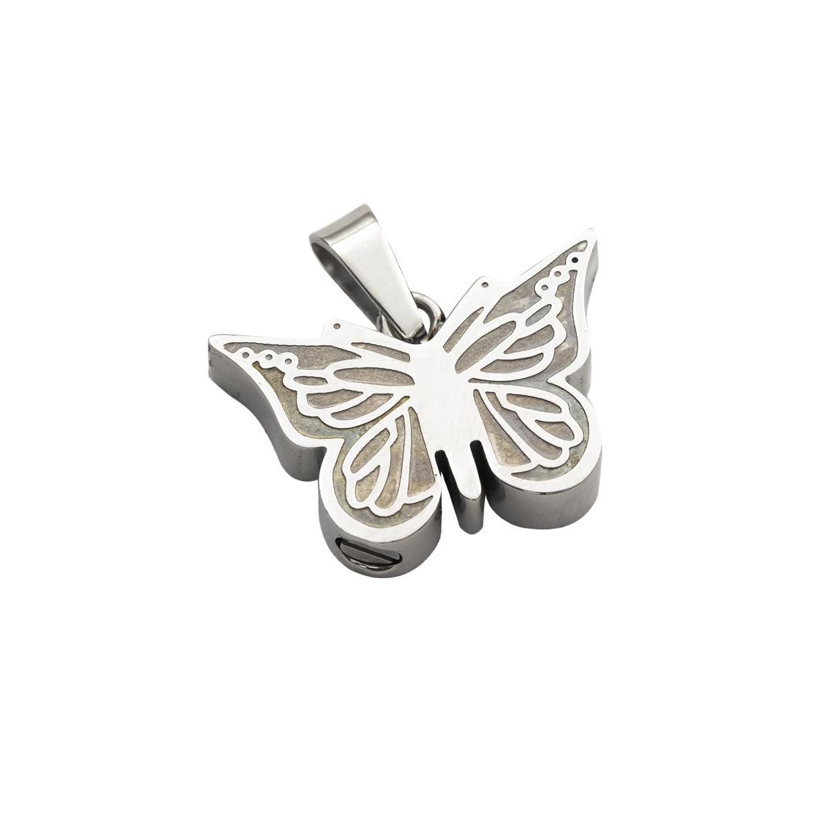 Butterfly Stainless Steel Pendant