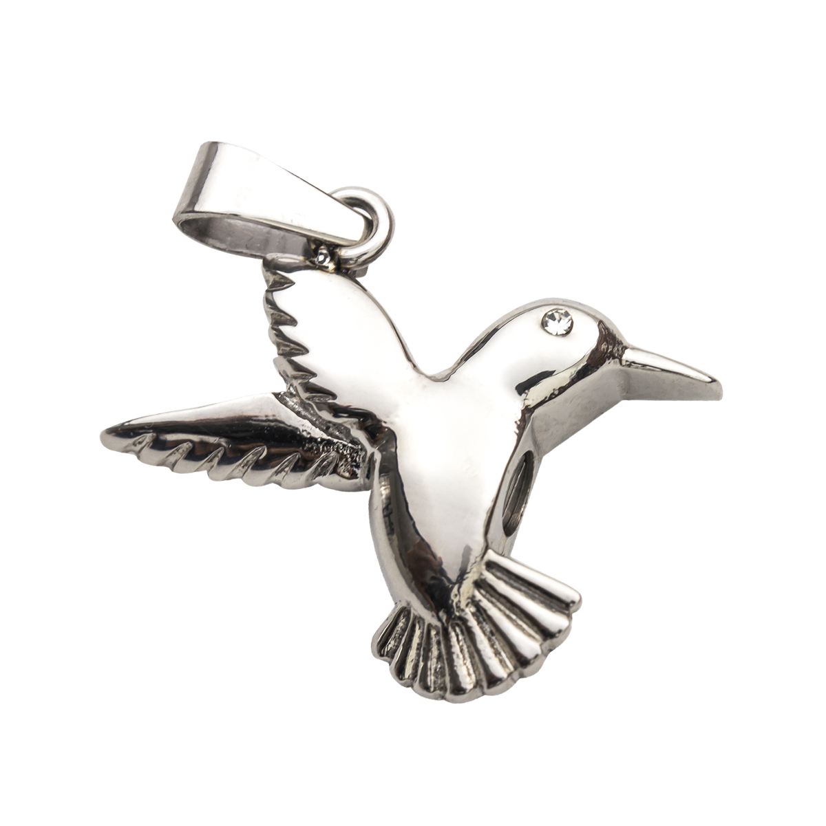Hummingbird Stainless Steel Pendant