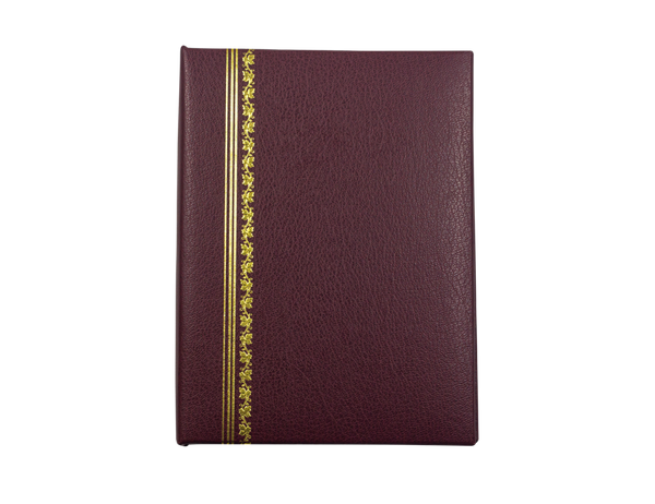 Classic Burgundy Cover with Gold Foil Accents