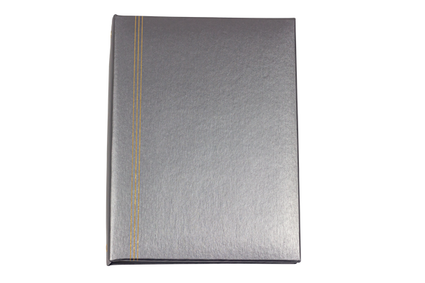 Brushed Pewter Register Book