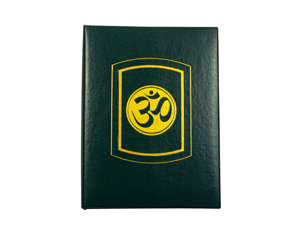"Hindu with gold foil ""Ohm"""